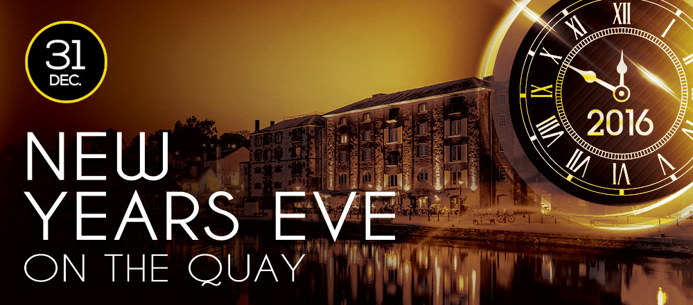 New Years Eve on the quay